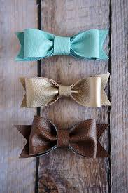 different types of hair bows diy leather hair bows eighteen25