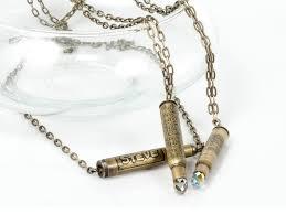 diy punk necklace images Wholesale personalized jewelry punk bullet men s pendant necklaces jpg