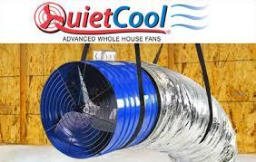 quiet cool attic fan quietcool dealer redding ca red bluff attic whole house fan