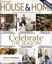 Home Decor Magazines Canada Abacus In The Media Abacus Furniture