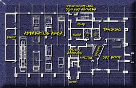 Fire Station Floor Plans Hecktown Fire Company Floor Plan