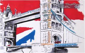 wall art of london wall art of london tower bridge london art