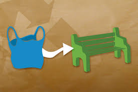 Park Bench Made From Recycled Plastic What Plastics Can Become Recycle Your Plastics
