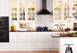 Red Ikea Kitchen - tile countertops ikea kitchen cabinets prices lighting flooring