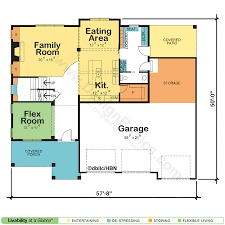 New House Floor Plans Two Story House U0026 Home Floor Plans Design Basics