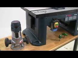 how to use a router table how to use a bosch router and ra1181 router table to make raised