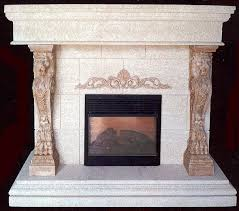 fake fireplace logs u2014 office and bedroom