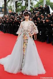 Red Carpet Gowns Sale by Fan Bingbing Floral Red Carpet Prom Dress Cannes Film Festival 2015