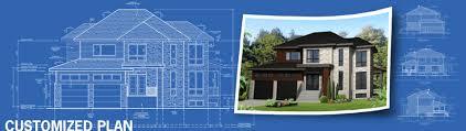 Customized House Plans Conception De Plans Personnalisés Planimage