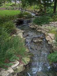 Cool Backyard Landscaping Ideas 25 Unique Backyard Stream Ideas On Pinterest Garden Stream
