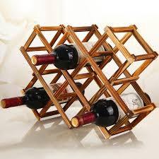 aliexpress buy practical folding wood wine rack wine bottle