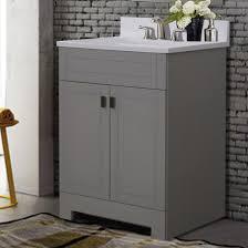 25 u201d x 19 u201d x 33 u201d dove grey vanity 547497 bath furniture design
