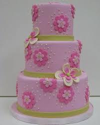 Flower Cakes Pink Flower Cake
