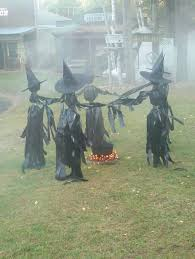 Realistic Outdoor Halloween Decorations by Witch Outdoor Halloween Decorations Samhain Yard Ideas And Witches