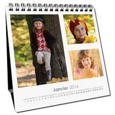 calendrier de bureau personnalisé a créer avec vos photos et