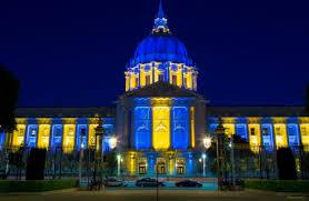 sf city hall lights san francisco city hall lights up for warriors sf funcheap