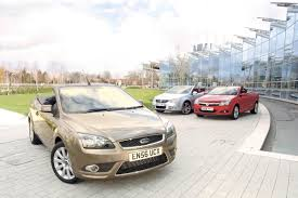 ford focus cc vs volkswagen eos vs vauxhall astra twintop top