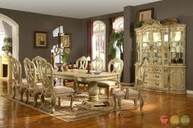 Louis Philippe Dining Room Formal Dining Table And Chairs Augure Me
