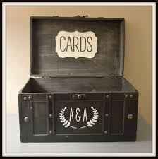 wedding gift card holder black vintage wedding card box holder trunk large wedding gift