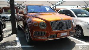 bentley bentayga 2016 bentley bentayga 13 july 2016 autogespot