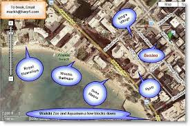 map of waikiki bamboo hotel condo in waikiki 2 blocks to the