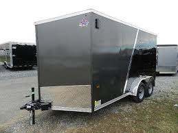 V Nose Enclosed Trailer Cabinets by Us Cargo 7 X 14 V Nose Enclosed Cargo Trailer 6