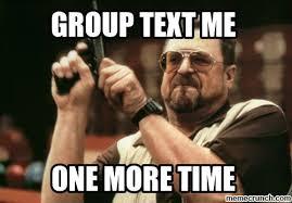 Me Time Meme - text me