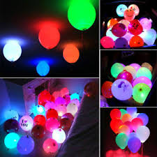 glow in the balloons 50pcs colorful led glow balloons paper lantern lights wedding
