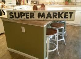 super market sign hand painted sign kitchen sign wood sign