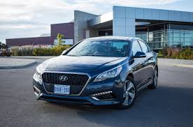 review 2016 hyundai sonata hybrid canadian auto review
