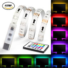 Led Lights Amazon Amazon Com Led Strips Light Maylit Usb Neon Accent Led Lights
