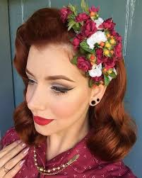 hair flowers custom made hair flowers pin up hair flowers rockabilly