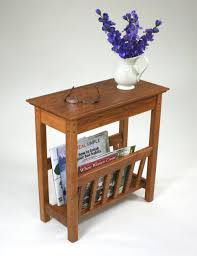 Small Side Table with Furniture Agreeable Small Side Table With Magazine Rack The
