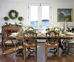 dining room table setting for christmas elegant holiday table settings better homes gardens