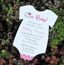hello baby shower set of 10 hello baby shower invitations all