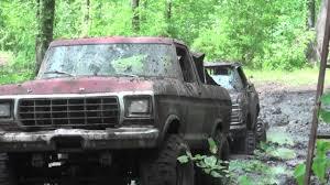 1979 Ford Truck Mudding - mud bogging 1979 ford bronco oakville waltz milan youtube