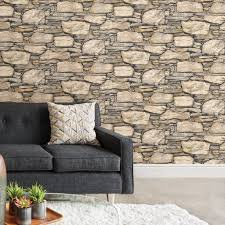Stick And Peel Wallpaper by Hadrian 3d Ledger Stone Wall Peel And Stick Wallpaper U2013 D Marie