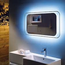 rak harmony led bathroom mirror with demister pad and bluetooth 800mm