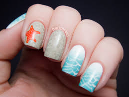 beach themed nail art gallery nail art designs