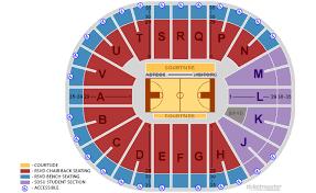 Winter Garden Seating Chart - viejas arena at aztec bowl san diego state university san diego