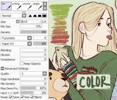 39 best art paint tool sai brush settings images on pinterest