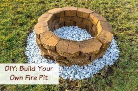 Fire Pit Building Plans - diy propane fire pit plans for outdoor brick fire pit diy building