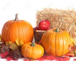 fall pumpkins background pictures fall harvest scene with pumpkins apples and colored leaves stock