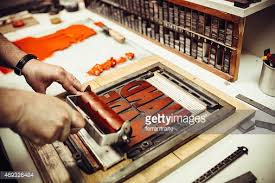letterpress printing letterpress printing stock photo getty images
