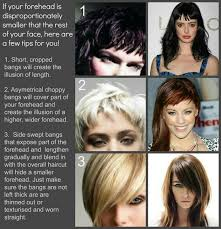 how to manage a ver low hairline best 25 small forehead ideas on pinterest small forehead