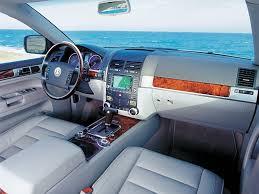 interior volkswagen touareg v10 tdi u00272002 u201307 cars volkswagen
