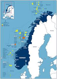 North Sea Map Dea Awarded Five Licences In Norway Letterone