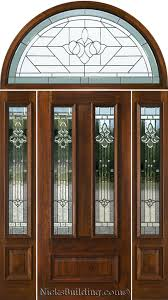 exterior doors with glass exterior doors with half round transoms arched transoms