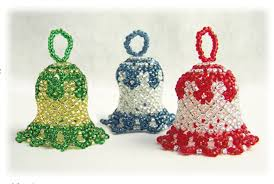 beaded bell ornament pattern bead patterns