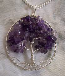 amethyst necklace pendant images Amethyst tree of life necklace pendant with chain amethyst jpg